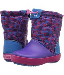 Crocs Crocband Lodge Point Graphic Boot (Toddler/L