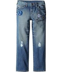 True Religion Geno Patchwork Jeans in Soft Blue (T