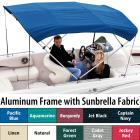 "Shademate Sunbrella 4-Bow Bimini Top, 8'L x 54""H,"