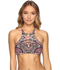 Lucky Brand Tapestry Reversible High Neck Top