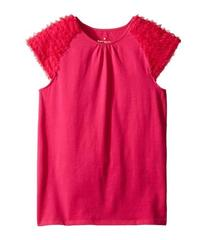 Kate Spade New York Ruffle Tee (Little Kids/Big Ki