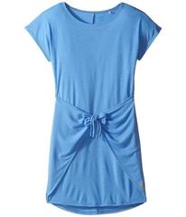 C&C California Poly Viscose Tie Front Tee Dress (L