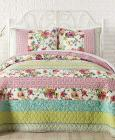 Jessica Simpson Boho Garden Cotton Quilt and Sham