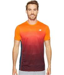 New Balance Accelerate Short Sleeve Graphic Top