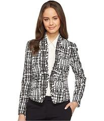 Tahari by ASL Printed Crepe Jacket