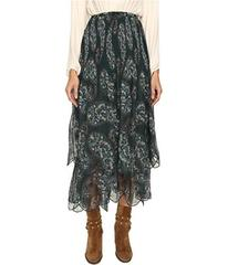 See by Chloe Crepon Paisley Maxi Skirt