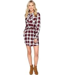 Brigitte Bailey Baron Plaid Shirtdress