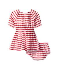 Splendid Littles Off the Shoulder Striped Dress (I