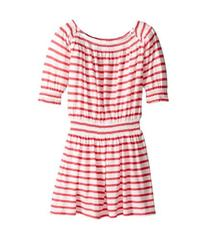 Splendid Littles Off the Shoulder Striped Dress (L
