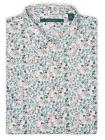 Big and Tall Short Sleeve Painted Floral Shirt