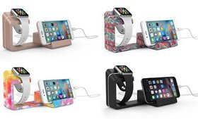 Element Works Dual Charging Stand for Apple Watch