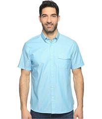 Perry Ellis Solid Textured Oxford Single Pocket Sh