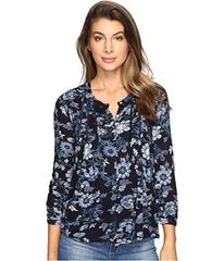 Lucky Brand Floral Vines Top