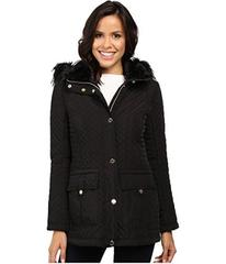 Jessica Simpson Quilted Anorak w/ Removable Hood a