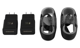 Samsung Fast Adaptive Charger 2Pack with 2 Micro O
