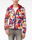 Armani Exchange Men's Graphic-Print Windbreak