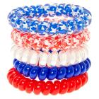 USA July 4th Coil Bracelets