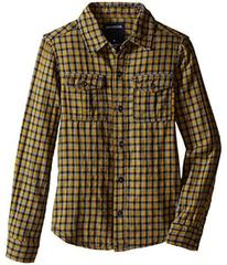 True Religion Woven Plaid Workwear Shirt (Toddler/