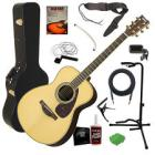 Yamaha LS6 ARE Acoustic Guitar - Natural with Case