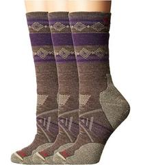 Smartwool PhD Outdoor Medium Pattern Crew 3-Pair P