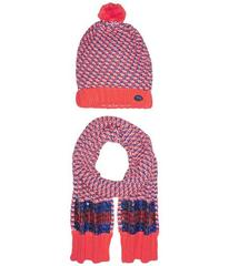 Little Marc Jacobs Set of Knitted Hat and Scarf wi