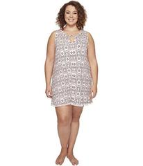 Lucky Brand Plus Size Pleat Front Flare Slip