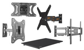 Emerald Tilt, Fixed, or Full-Motion Wall Mounts fo