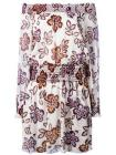 Tory Burch floral print off-shoulders dress
