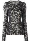 Tom Ford animal pattern jumper