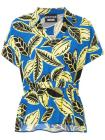 Boutique Moschino floral print polo shirt