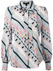 Marc Jacobs floral striped patterned shirt