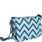 "Wildkin Zigzag Lucite 13 x 10"" Messenger Bag"