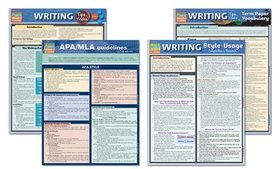 English Language and Writing Laminated Study Guide