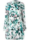Burberry floral trench coat