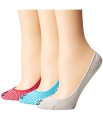 Sperry Padded Sole Liners 3-Pair