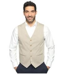 Perry Ellis Regular Fit Stretch Heather Twill Suit
