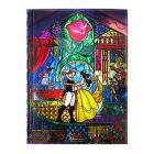 Beauty and the Beast Stained Glass Journal