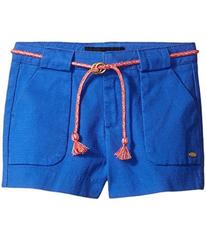 Tommy Hilfiger Woven Shorts with Belt (Little Kids