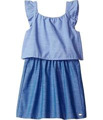 Tommy Hilfiger Two-Tone Chambray Top/Skirt Dress (