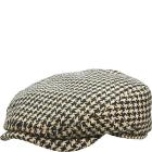 Stetson Wool Houndstooth Ivy Cap
