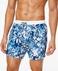 HUGO Men's Tapered Floral Board Shorts