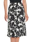 Karl Lagerfeld Accordion Pleated Floral Skirt