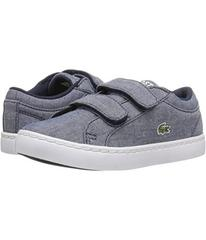 Lacoste Straightset Lace 117 3 SP17 (Toddler/Littl