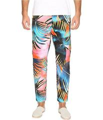 Just Cavalli Tie-Dye Palm Print Pants