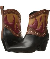 Just Cavalli Nappa with Fires Short Boots