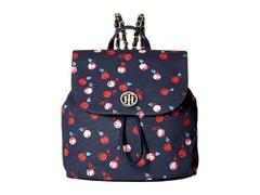 Tommy Hilfiger Petra Backpack Cherry Canvas