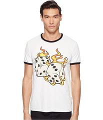 Just Cavalli Flaming Dice T-Shirt