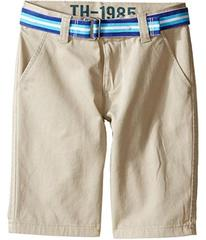 Tommy Hilfiger Chester Twill Shorts (Toddler/Littl