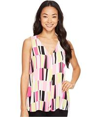 Vince Camuto Sleeveless Charming Graphic Drape Fro
