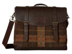 Johnston & Murphy Suede Leather Flapover Brief